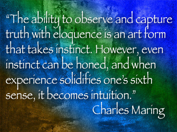 charles maring quote