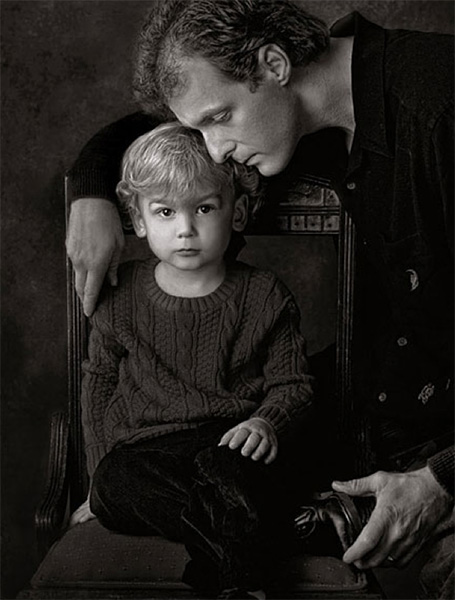 tim kelly fine art black & white portrait