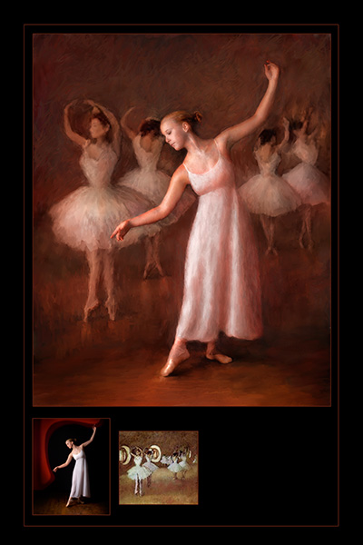 dabcing with degas © chandler