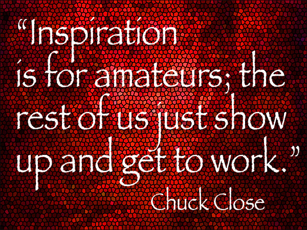 chuck close art quote