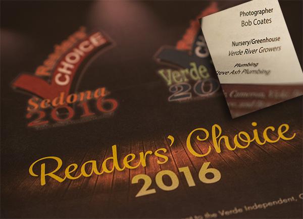 readers choice award photo