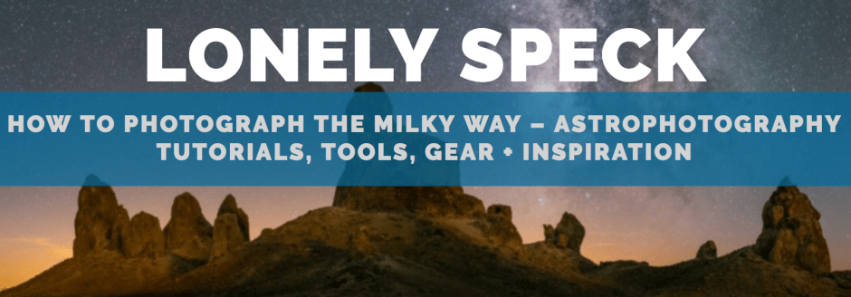 lonely spec web site banner