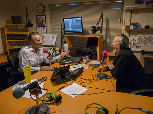 tom taback & bob coates on the radio