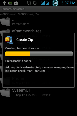 Zip framework res