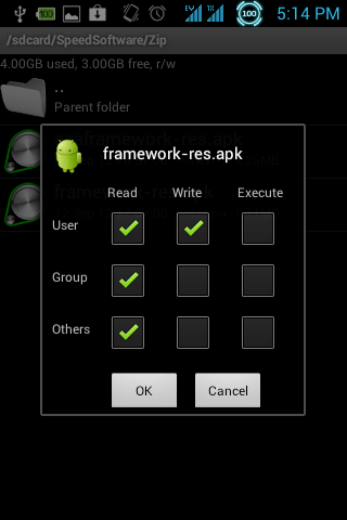 Permission Framework apk