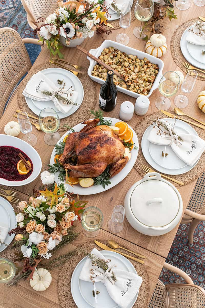 The Ultimate Guide For An Easy Thanksgiving Dinner Sugar And Charm