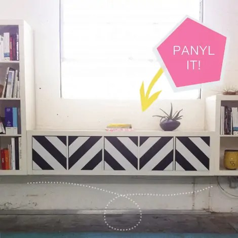 IKEA Panyl stripe decals