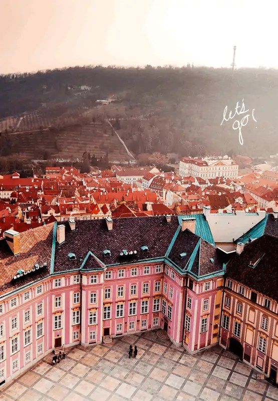 czech republic pink city
