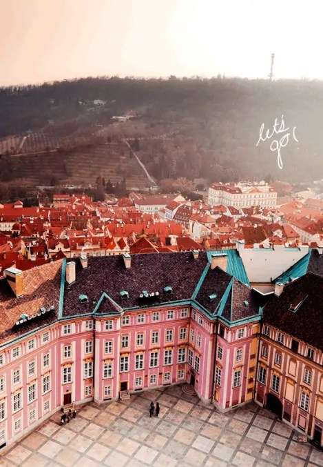czech republic pink city