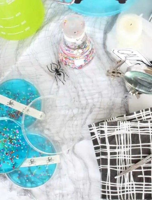 Eats: Petri Dish Jell-O - Sugar & Cloth - Houston Blogger - Holiday - Recipe