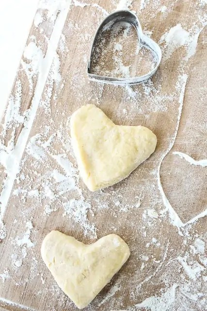 delicious heart shape donut recipe