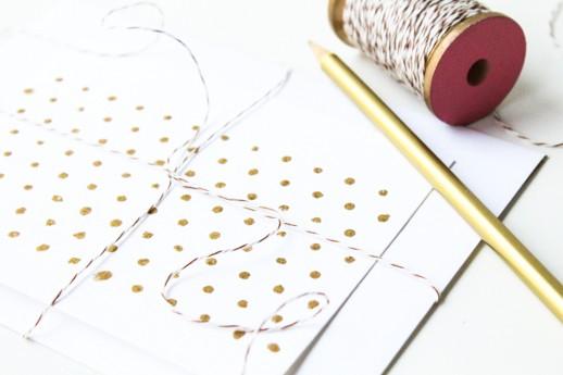 DIY patterned stationary