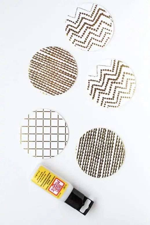 waterproof paper coasters and other pretty labels