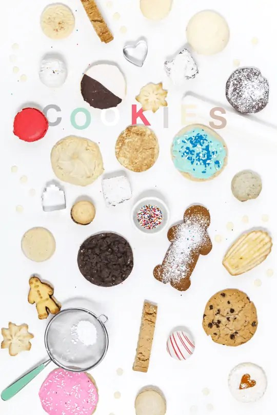 Holiday cookie staples