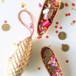 DIY Surprise Pinecone Gift Boxes
