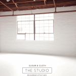 The new Sugar & Cloth studio!