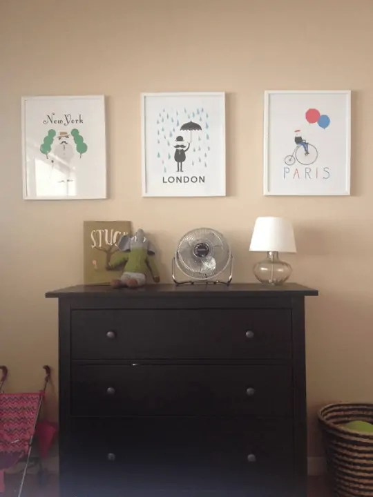 Before Photos: Girls' room makeover
