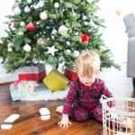 DIY santa footprints