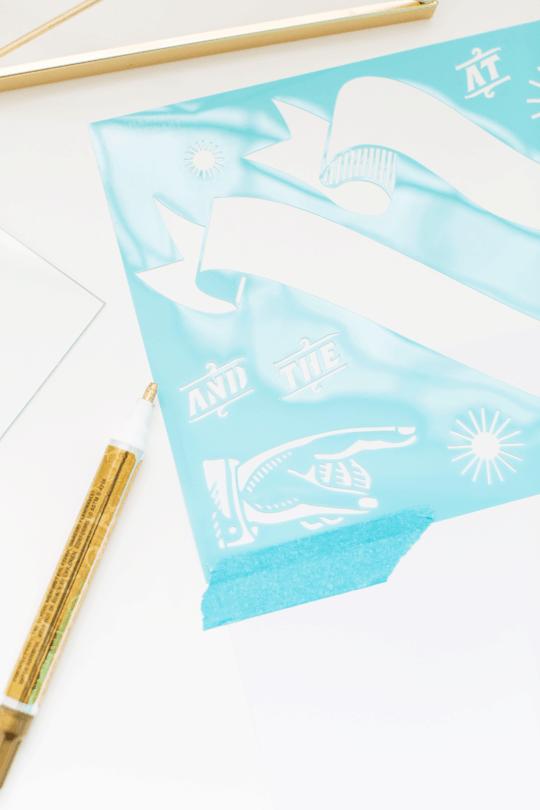 DIY Desktop Dry Erase Board | sugar & cloth