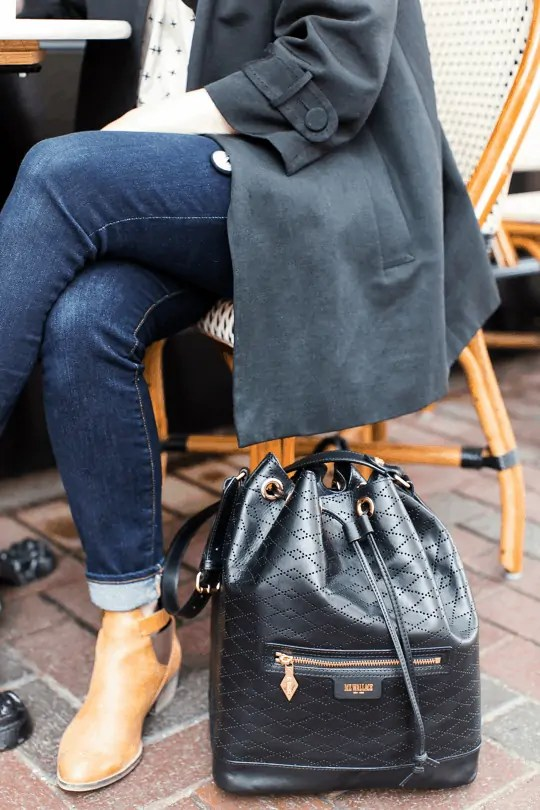 bucket bag, MZ Wallace giveaway | Sugar & Cloth