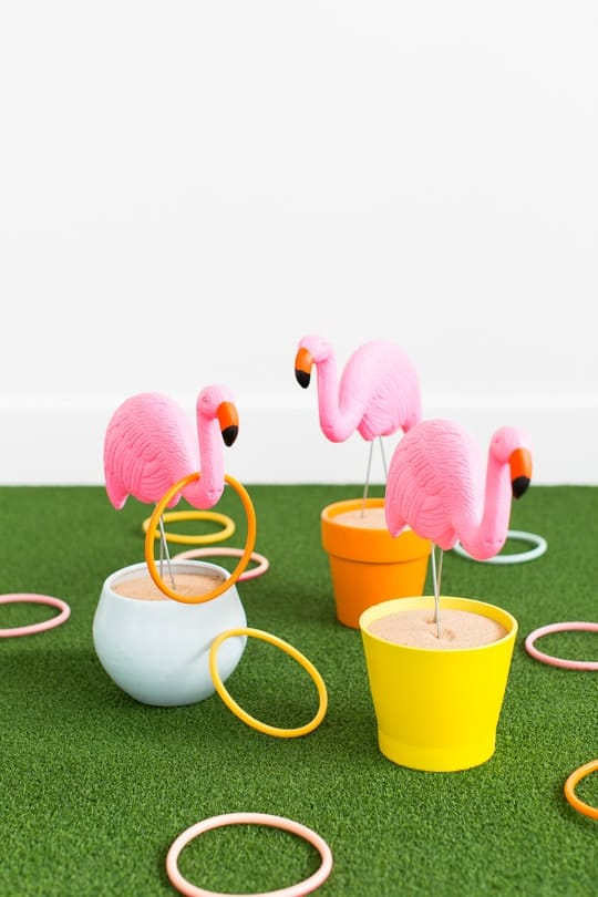 Flamingo Ring Toss Yard Game - Sugar & Cloth