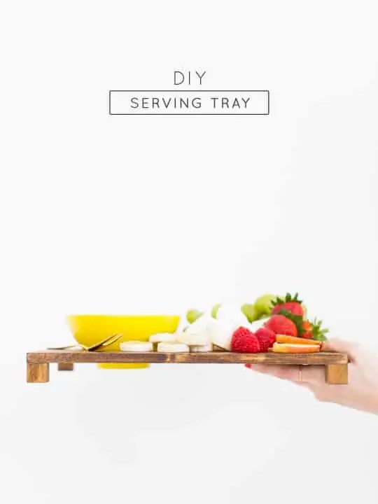 DIY serving tray - Sugar & Cloth - Entertaining