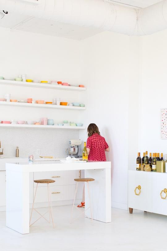 sugar and cloth studio behind the scenes - ashley rose