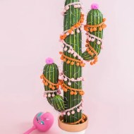 DIY cactus Christmas tree! - Sugar & Cloth