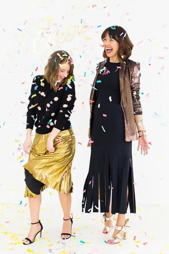 6 New Years Eve Sips and Styles - sugar and cloth