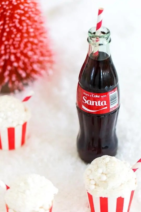 Classic Coca-Cola Cupcakes - Sugar & Cloth