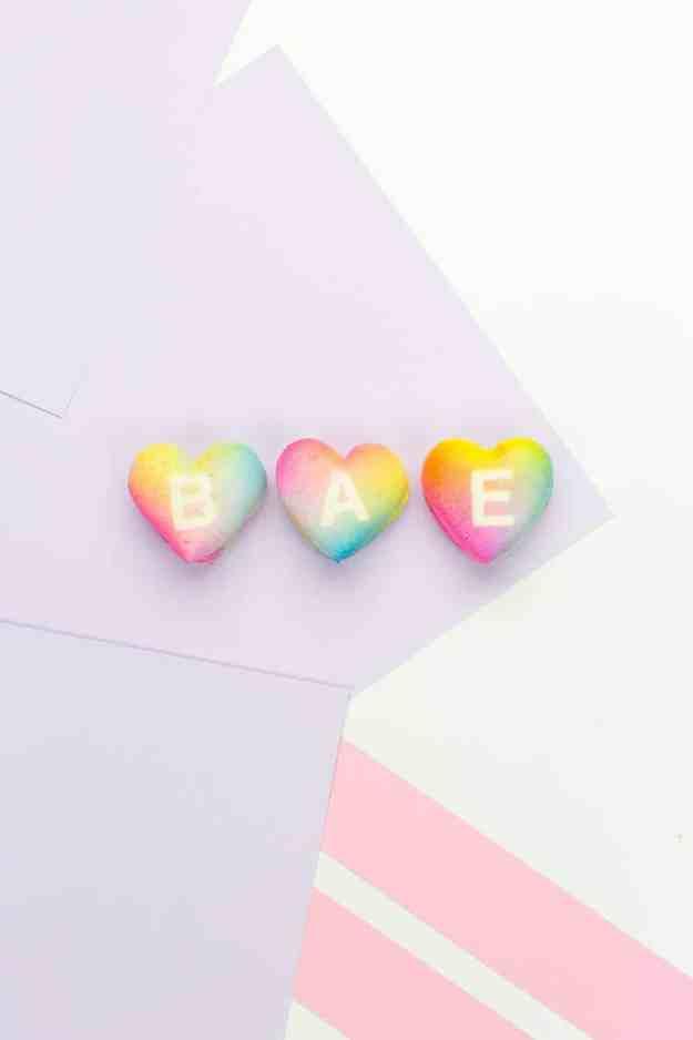 DIY gradient message macarons - sugar and cloth