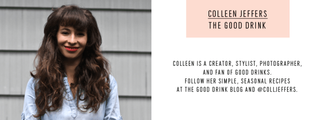 colleen jeffers - contributor - the good drink - sugar and cloth