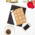 DIY Good Reminder Notebook