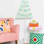 DIY Pegboard Christmas Tree