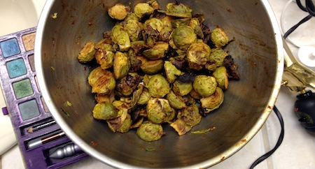 brussels sprouts thai chili