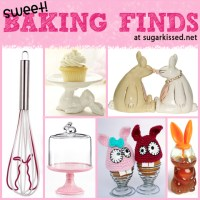 Sweet! Easter Baking Finds with Bunnies