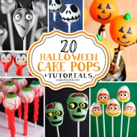 20 Halloween Cake Pops with Tutorials