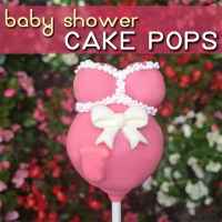 Easy Baby Shower Cake Pops