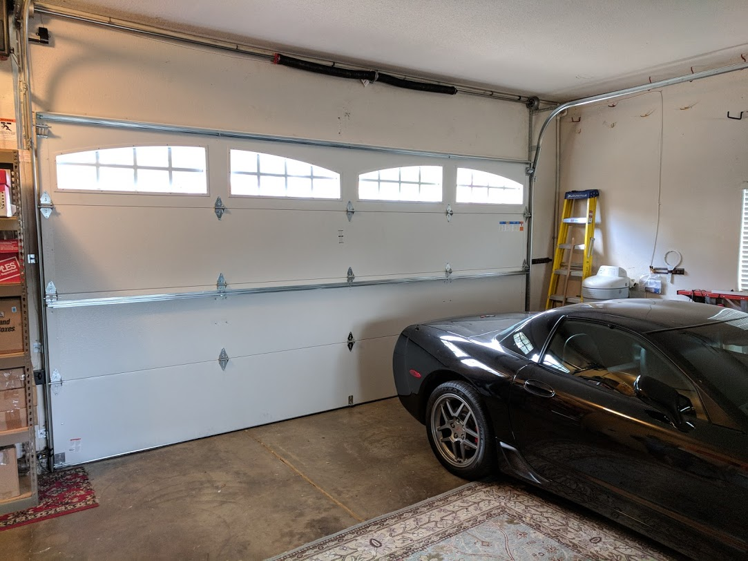 Car Lift In Garage Car Lift And Garage Door