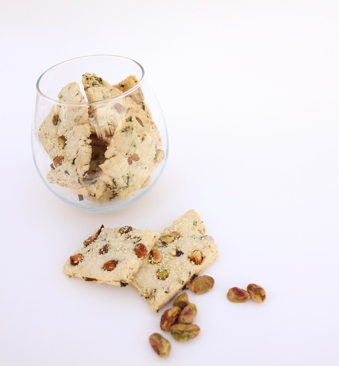 Chive and Pistachio Crisps 002