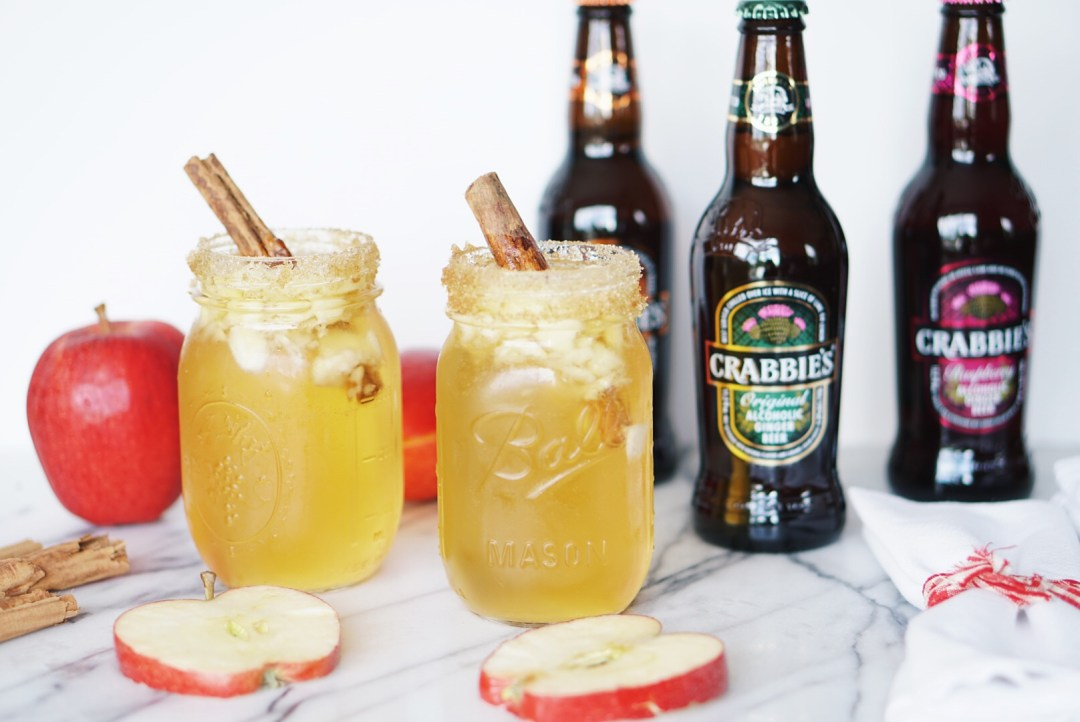 The Perfect Fall Cocktail Featuring Crabbie's Ginger Beer
