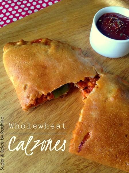 Wholewheat Calzones