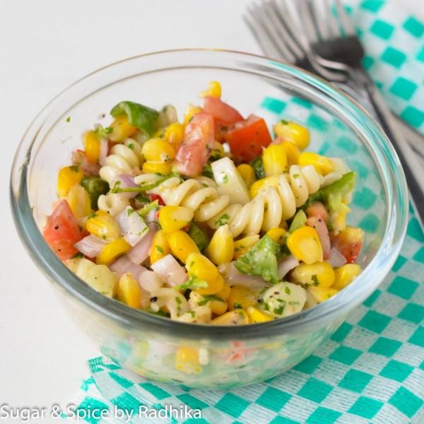 Corn and Pasta Salad