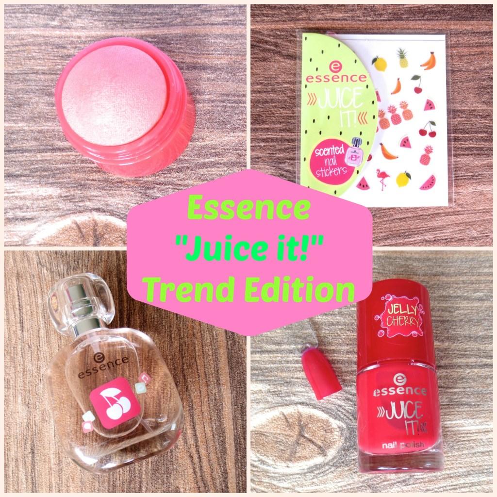 Essence Juice it! Trend Edition Collage