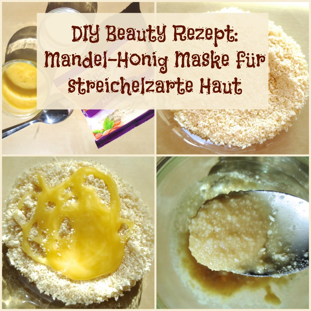 DIY Beauty Rezept: nährende Mandel Honig Maske