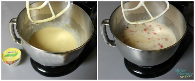 Strawberry Banana Bread Mixture