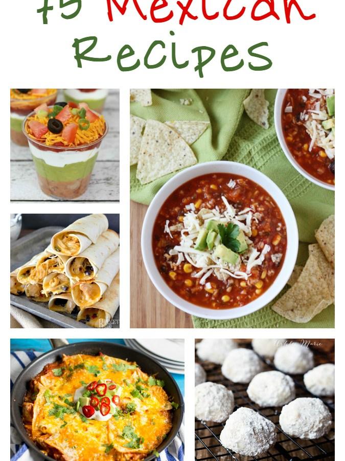 75 Mexican Recipes