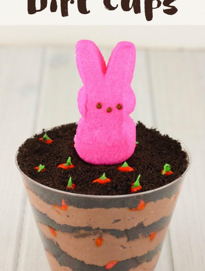 Carrot Patch Dirt Cups