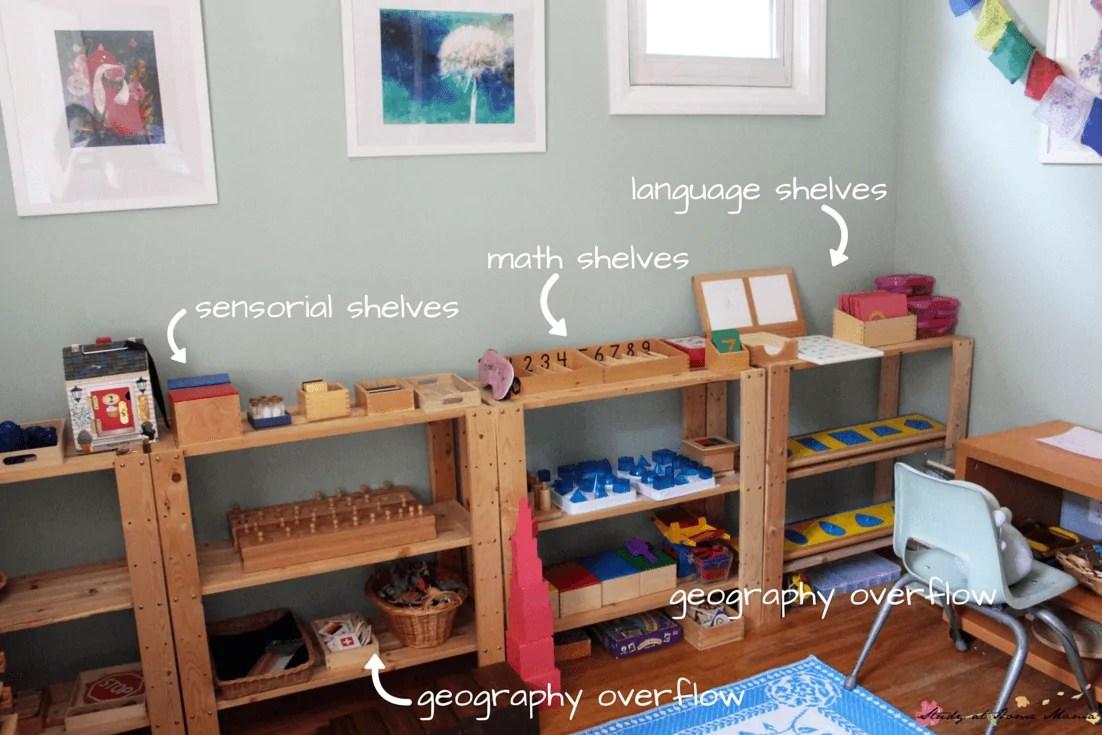 Montessori Homeschool Room Tour Sugar Spice And Glitter