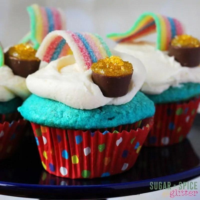 Kids\u0027 Kitchen Over the Rainbow Cupcakes ⋆ Sugar, Spice and Glitter